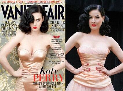 Katy Perry, Dita Von Teese