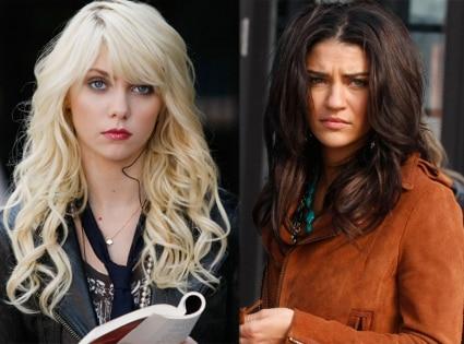 Gossip Girl, Taylor Momsen, Jessica Szohr,