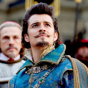 Orlando Bloom, Three Musketeers