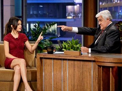 The Tonight Show, Selena Gomez, Jay Leno