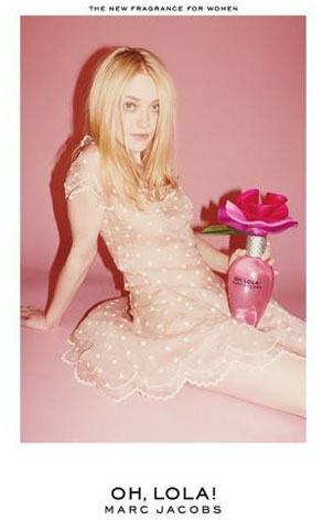 Dakota Fanning, Marc Jacobs Ad