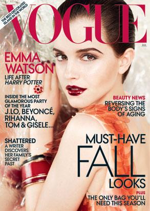 Emma Watson, Vogue Cover