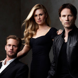 True Blood, Stephen Moyer, Alexander Skarsgard, Anna Paquin