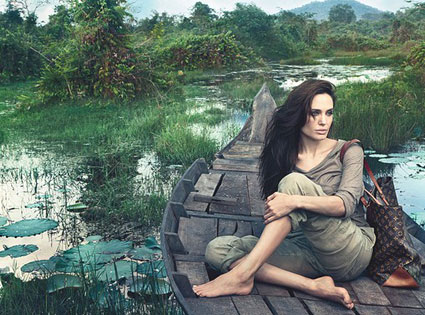 Angelina Jolie Louis Vuitton Ad