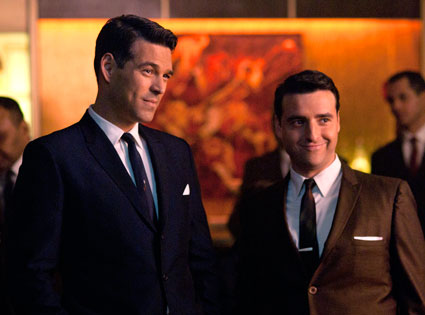 THE PLAYBOY CLUB, Eddie Cibrian, David Krumholtz