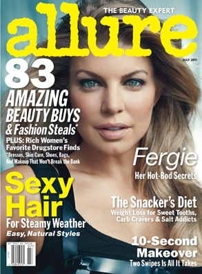 Fergie, Allure Cover