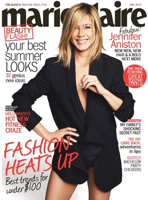 Marie Claire, Jennifer Aniston