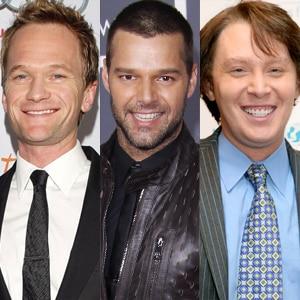 Neil Patrick Harris, Ricky Martin, Clay Aiken