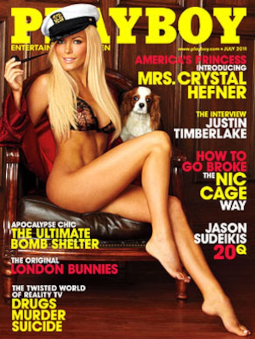 Crystal Harris, Playboy Cover