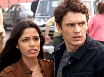 Freida Pinto, James Franco, Rise of the Apes