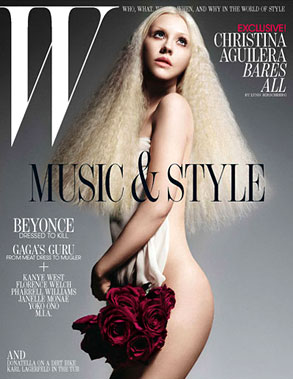 Christina Aguilera, W Magazine