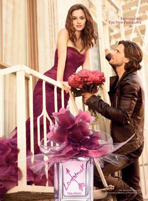 Leighton Meester, Perfume Ad
