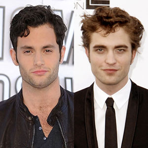 Penn Badgley, Robert Pattinson