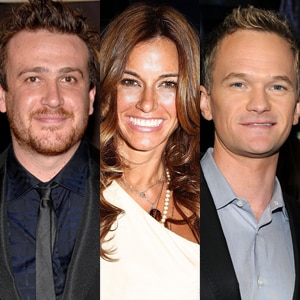 Jason Segel, Kelly Bensimon, Neil Patrick Harris