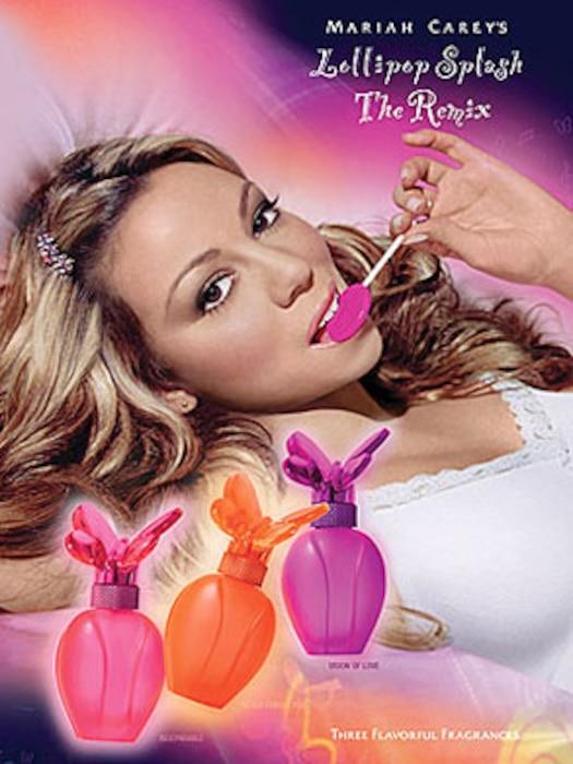 Mariah Carey, Perfume Ad