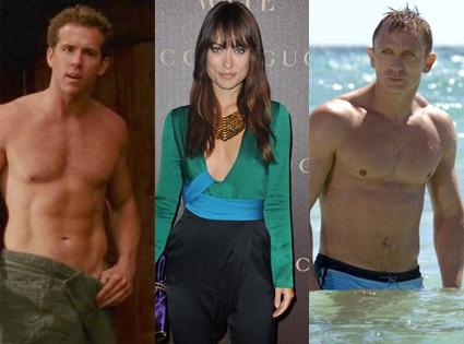 Ryan Reynolds, Olivia Wilde, Daniel Craig