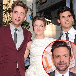 Robert Pattinson, Kristen Stewart, Taylor Lautner, Jason Sudeikis