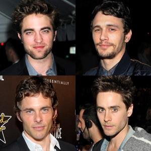 Robert Pattinson, James Franco, James Marsden, Jared Leto