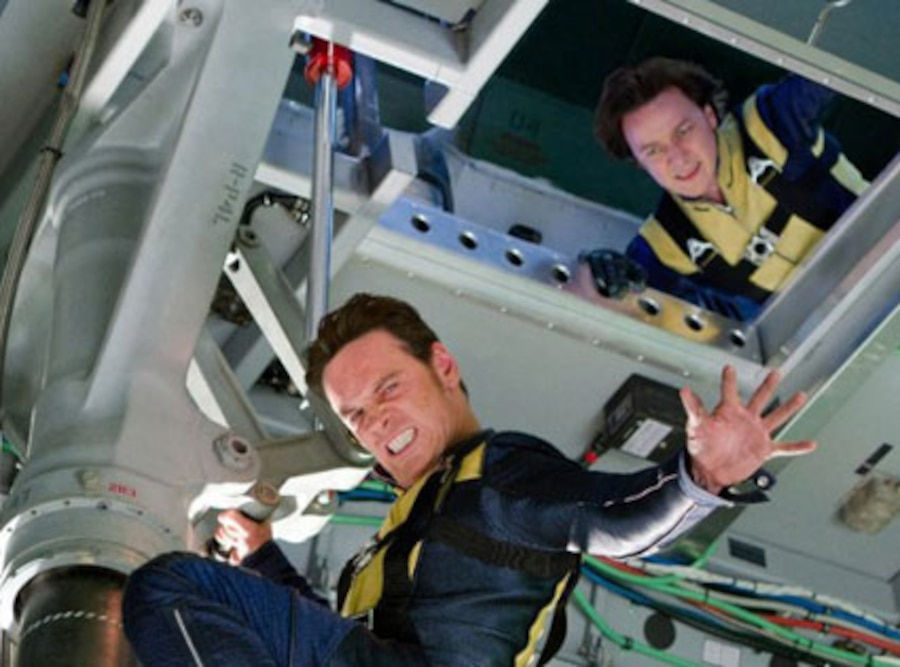 X-Men: First Class, Michael Fassbender, James McAvoy