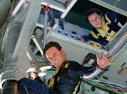 X-Men: First Class, Michael Fassbender, James McAvoy