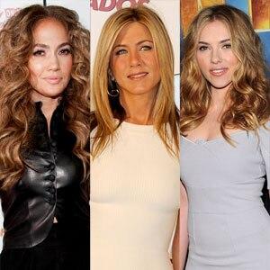 Jennifer Aniston, Jennifer Lopez, Scarlett Johansson