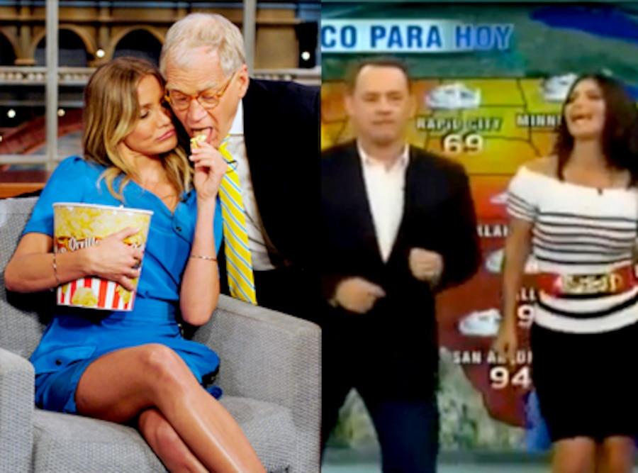 Cameron Diaz, David Letterman, Tom Hanks