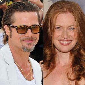 Mireille Enos, Brad Pitt