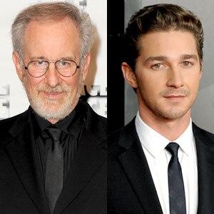 Steven Spielberg, Shia LaBeouf