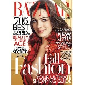 Anne Hathaway, Harpers Bazaar