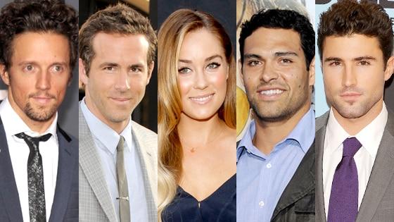 Jason Mraz, Ryan Reynolds, Lauren Conrad, Mark Sanchez, Brody Jenner