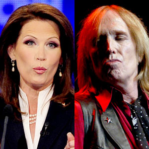Michelle Bachmann, Tom Petty