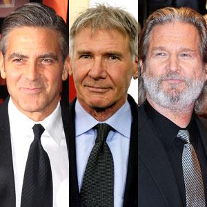 Harrison Ford, George Clooney, Jeff Bridges