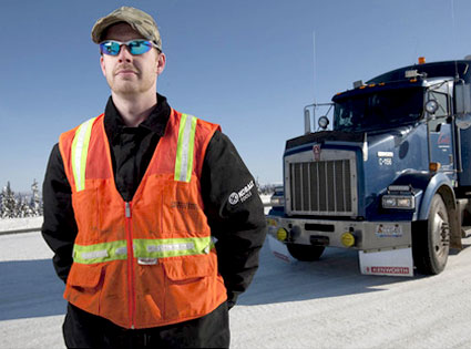 Gregory Boadwine, Ice Road Truckers
