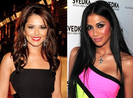 Nicole Scherzinger, Cheryl Cole