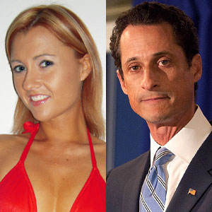 Anthony Weiner, Ginger Lee