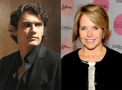 Katie Couric, James Franco, General Hospital