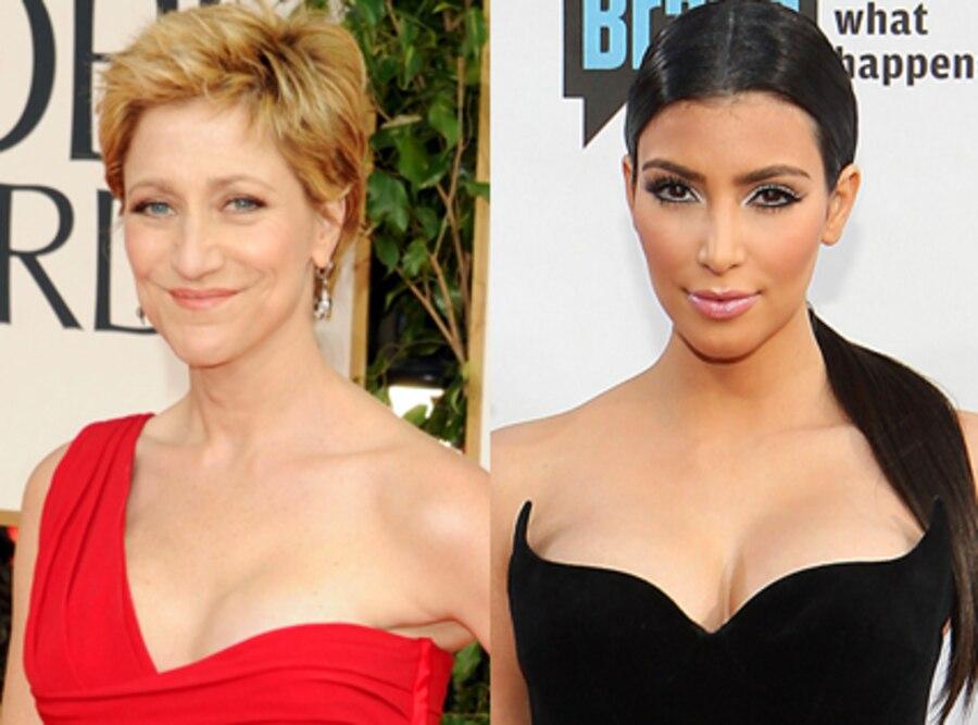 Edie Falco, Kim Kardashian