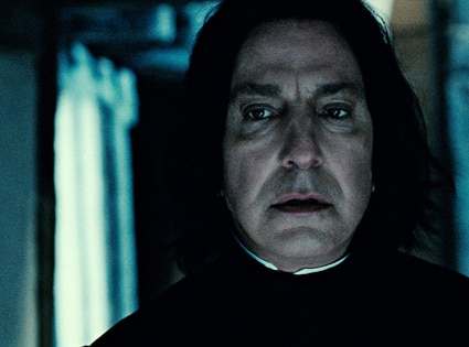 Harry Potter and the Deathly Hallows Part 2, Alan Rickman