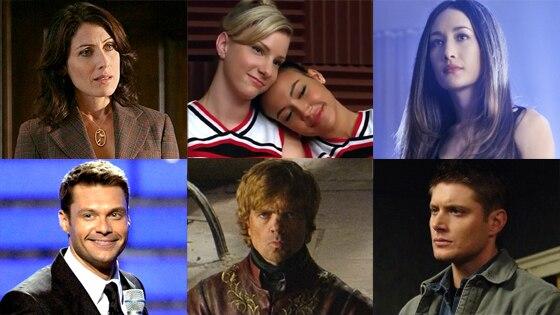 Supervote, Lisa Edelstein, Naya Rivera, Heather Morris, Maggie Q,  Ryan Seacrest,, Peter Dinklage, Jensen Ackles