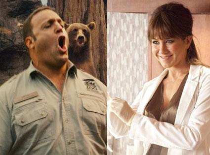 Jennifer Aniston, Horrible Bosses, Kevin James, Zoo Keeper