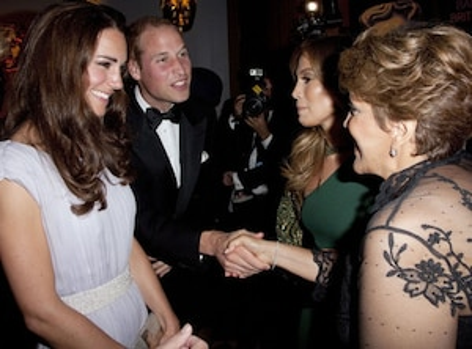 Guadalupe Lopez, Jennifer Lopez,  Prince William, Duke of Cambridge, Catherine, Duchess of Cambridge, Kate Middleton
