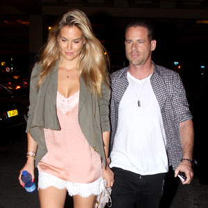 Bar Refaeli, David Fisher