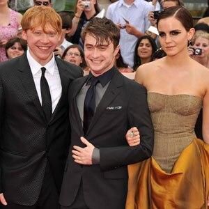 Rupert Grint, Daniel Radcliffe, Emma Watson