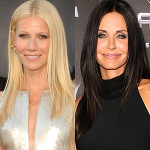 Gwyneth Paltrow, Courteney Cox