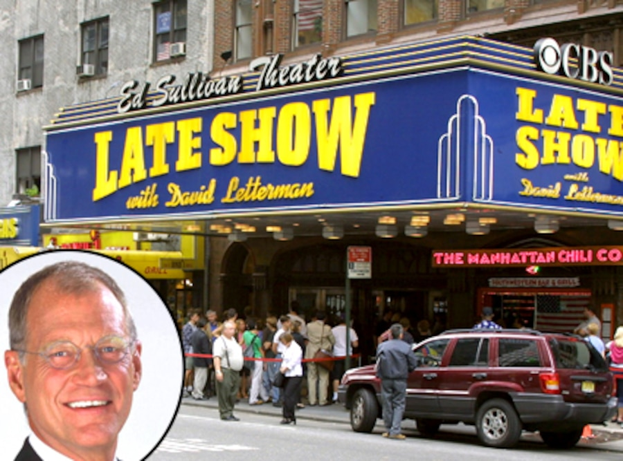 Ed Sullivan Theatre, David Letterman