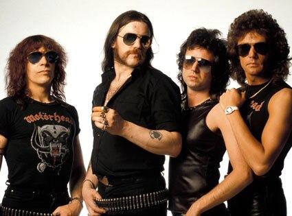 MOTORHEAD, Mick Wurzel Burston, Lemmy Kilmister, Phil Campbell, Pete Gill