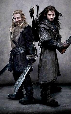 Dean O'Gorman, Aidan Turner, The Hobbit An Unexpected Journey