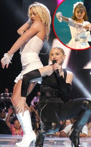 Madonna, Britney Spears, Lourdes Leon