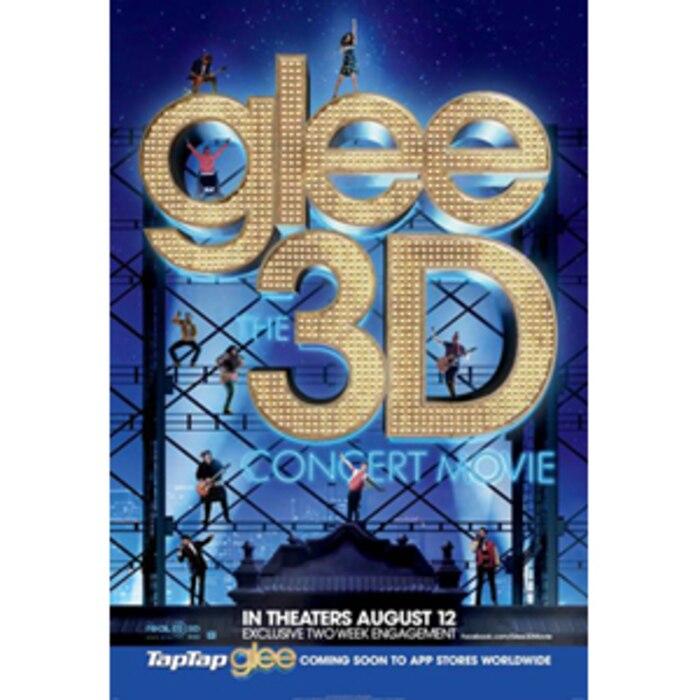 Glee: 3D Poster