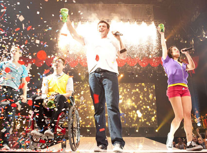Glee, Movie, 3D, Cast